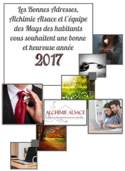 Agence alchimie alsace nouvel an 2017