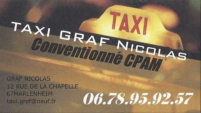 Taxi Graf à Marlenheim