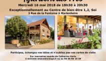 mai 2018 afterwork des pros au centre de bien etre 1 2 soi a marlenheim