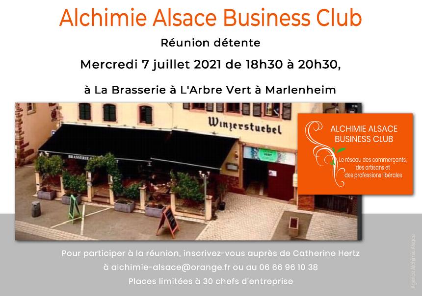2021 07 07 reunion reseau alchimie alsace business club a marlenheim