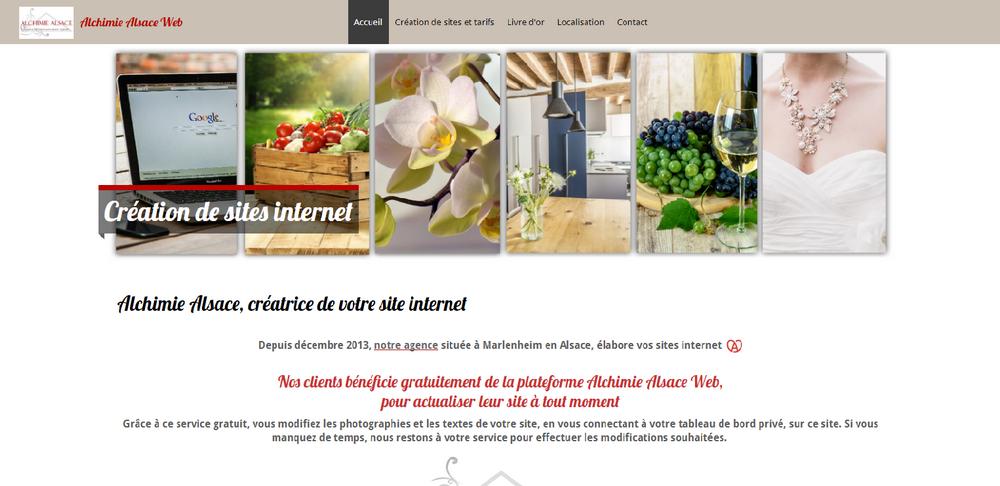 Alchimie alsace web creation de sites internet 2