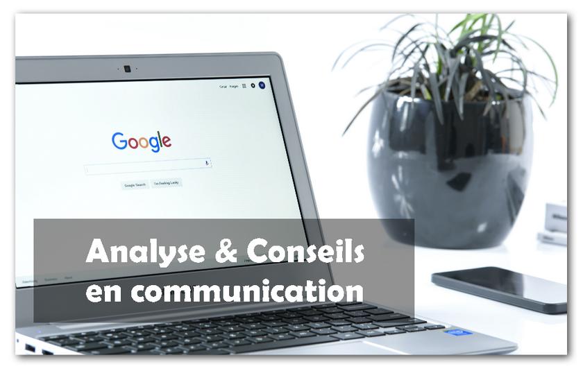 Analyse & conseils en communication à 60€ TTC la séance