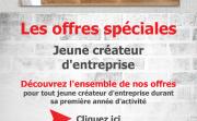 Les offres speciales jeune createur d entreprise