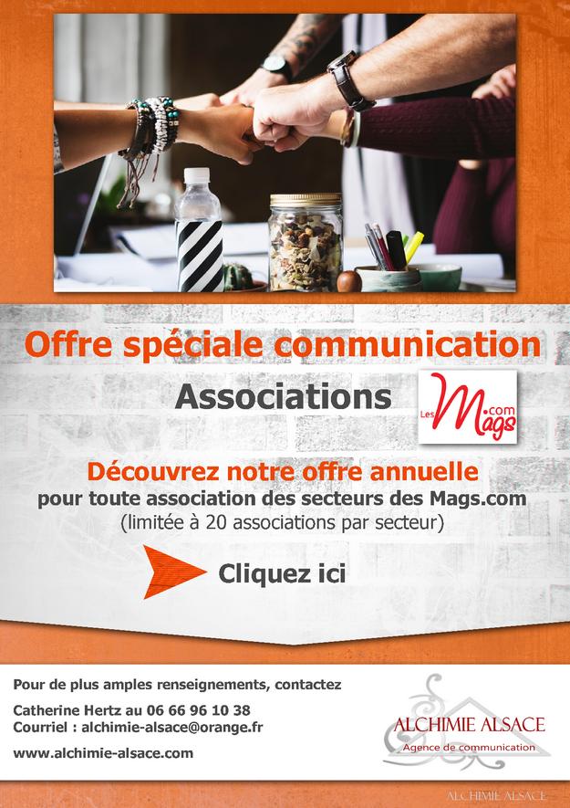 Offre spéciale Associations des Mags.com