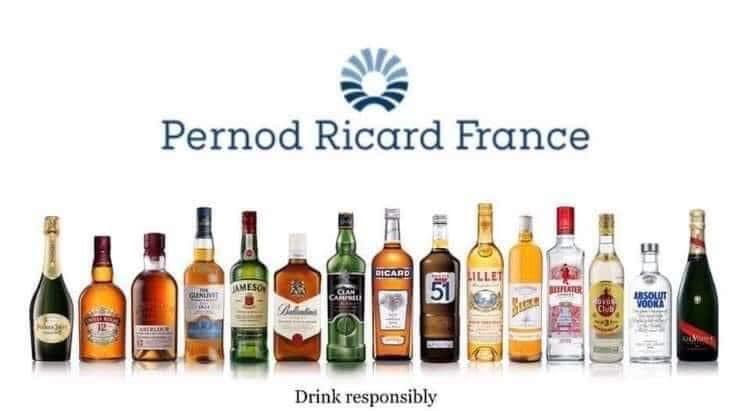 Pernod ricard france