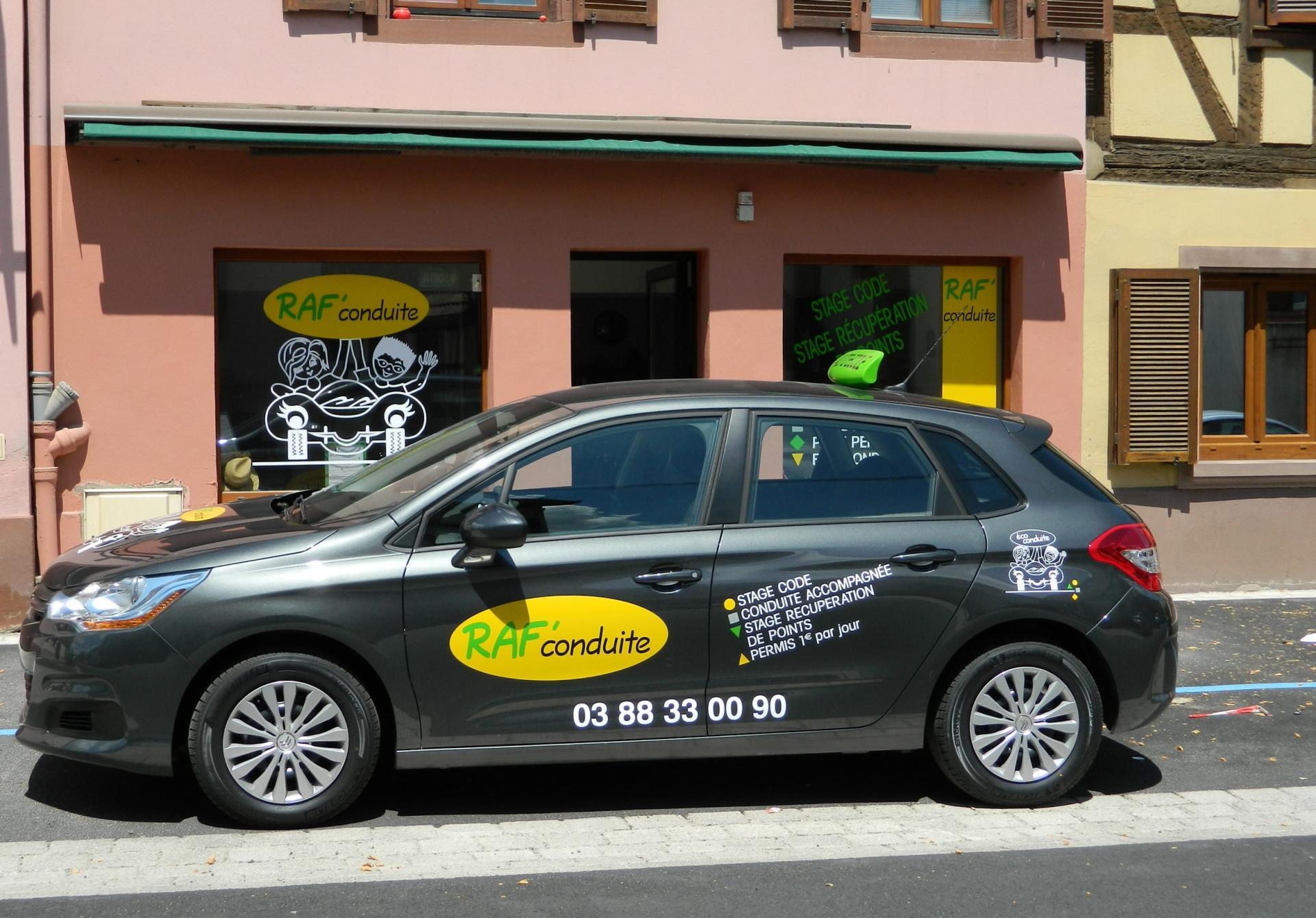 Auto-école Raf'Conduite à Marlenheim