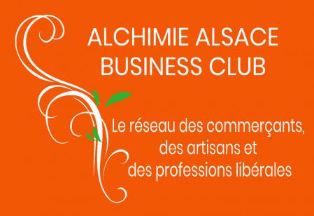 Reseau professionnel alchimie alsace business club logo